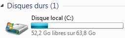 Avant fusion du SP1 de Windows 7